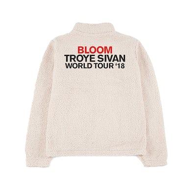 Troye Sivan LADIES BLOOM TOUR SHERPA JACKET