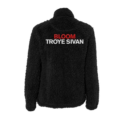 Troye Sivan BLOOM SHERPA JACKET - BLACK
