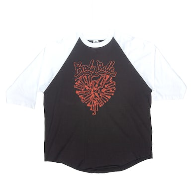 The Distillers BRODY DALLE BONEY HEART RAGLAN