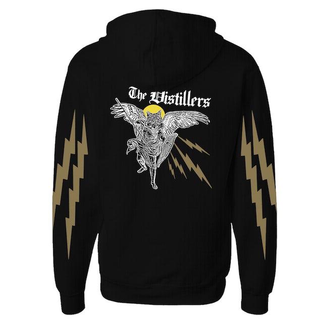 The Distillers Angel Wolf Zip Hoodie