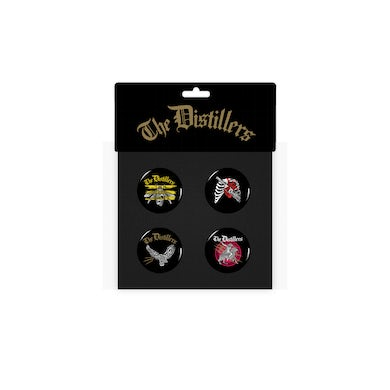 The Distillers Button Pack