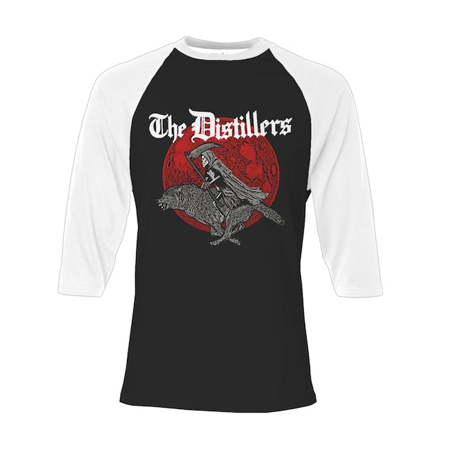 The Distillers Reaper Wolf Raglan Tee