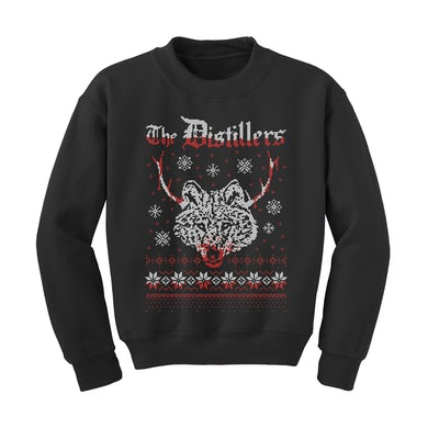 The Distillers Red Christmas Crewneck Sweatshirt