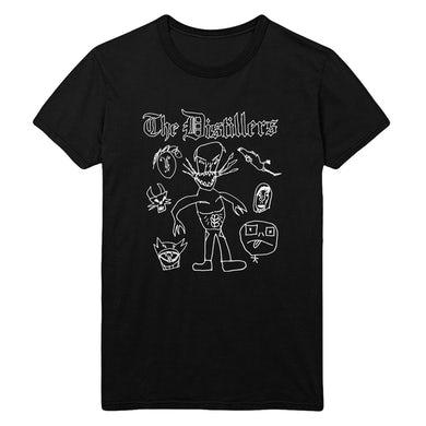The Distillers Ryder Sketches Tee