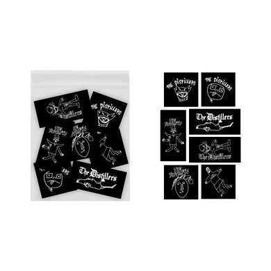 The Distillers Ryder Sketches Sticker Pack
