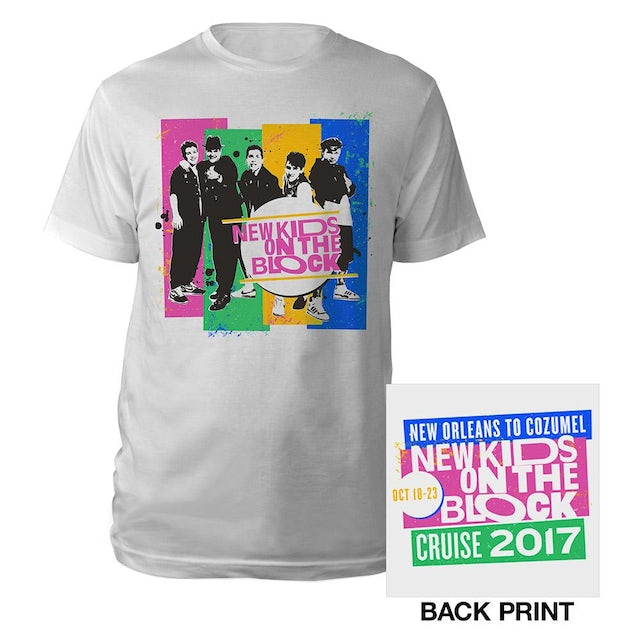 New Kids On The Block New Orleans to Cozumel Cruise Vintage Photo Tee