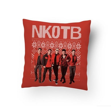 New Kids On The Block NKOTB Holiday Pillow