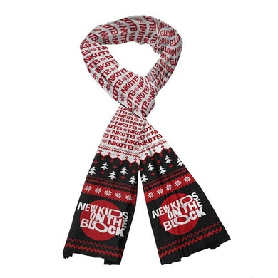 New Kids On The Block NKOTB Holiday Scarf