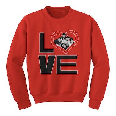 New Kids On The Block Love Vintage Photo Crewneck Sweatshirt
