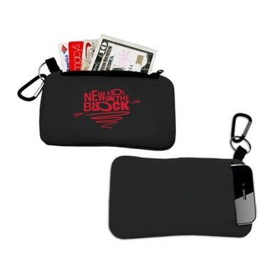 New Kids On The Block NKOTB Cupid's Arrow Credit Card + Phone Pouch
