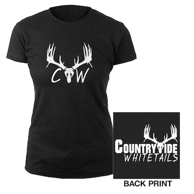 Brantley Gilbert Country Wide White Tails ladies tee