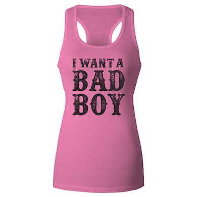 Brantley Gilbert I want a BAD BOY ladies tank top