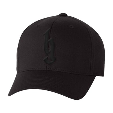 Brantley Gilbert BG Black Logo Flex Hat