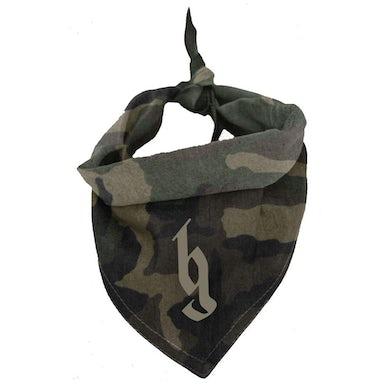 Brantley Gilbert BG Logo camo dog bandana