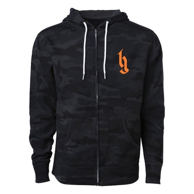 Brantley Gilbert Fire't Up Tour 2020 Zip Hoodie