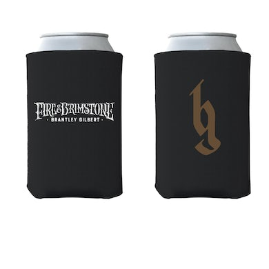Brantley Gilbert Fire & Brimstone BG Coozie