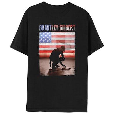 Brantley Gilbert American Flag Photo Tee