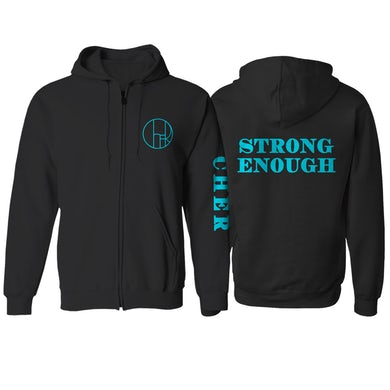 Cher Strong Enough Zip Sweatshirt