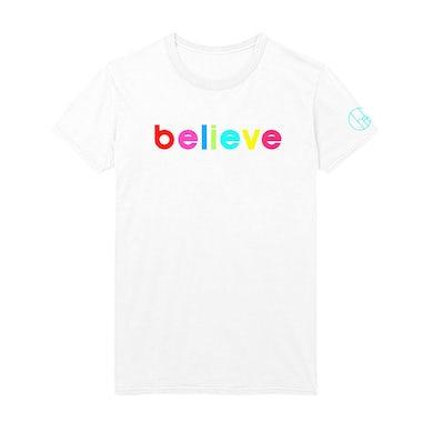 Cher Believe Rainbow Tee