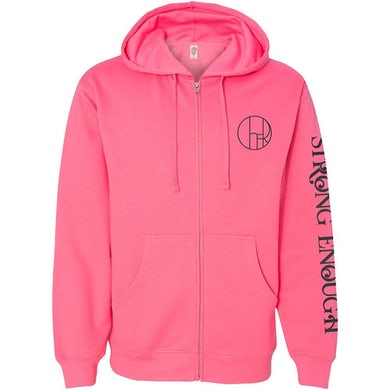 Cher Strong Enough Hot Pink Hoodie