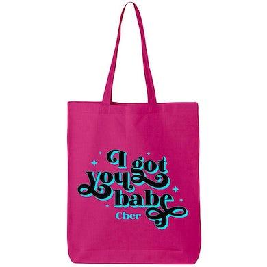 Cher I Got You Babe Tote Bag