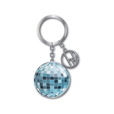 Cher Disco Ball Keychain
