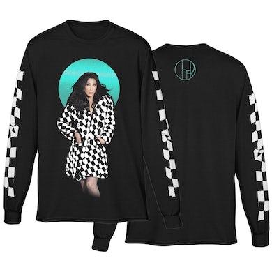 Cher Checkered Trench Coat Photo Tee