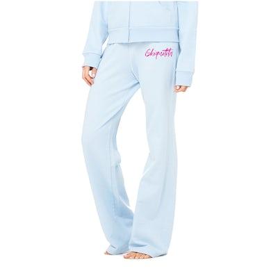 Cher Chiquitita Sweatpants Baby Blue