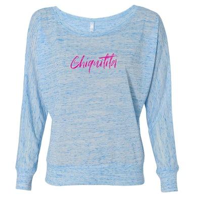 Cher Chiquitita Long Sleeve Tee Blue Marble