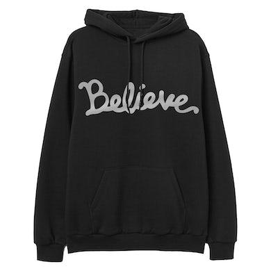 Believe Oversized Pullover Hoodie