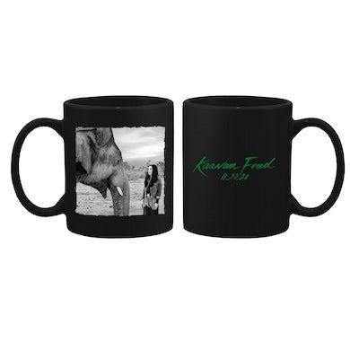 Cher Kaavan Freed Black Coffee Mug
