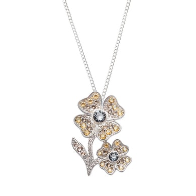 Sarah Brightman Floral Jewels Brooch/ Necklace - Night Shade