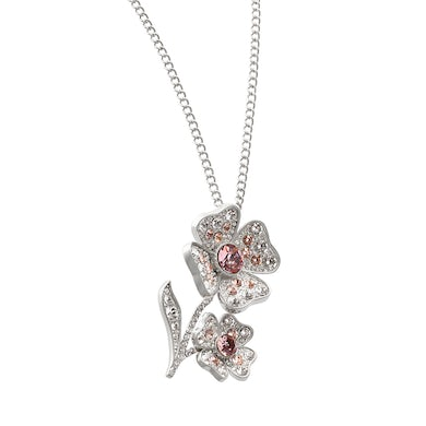 Sarah Brightman Floral Jewels Brooch/ Necklace - Blush Shade