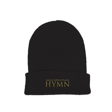Sarah Brightman NEW HYMN Beanie - Black