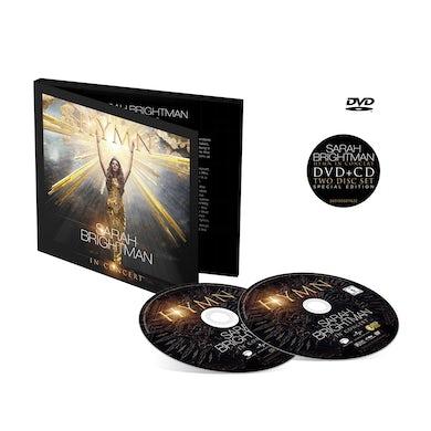 Sarah Brightman HYMN IN CONCERT - Deluxe Edition DVD/CD