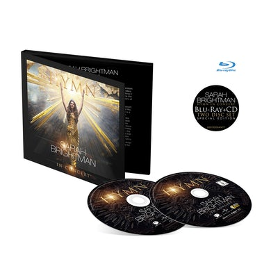 Sarah Brightman HYMN IN CONCERT - Deluxe Edition Blu-ray/CD