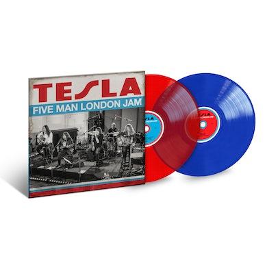 Tesla Five Man London Jam Limited Edition Color LP (Vinyl)