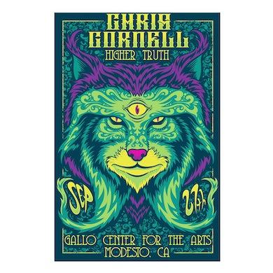 Chris Cornell Higher Truth Modesto Poster