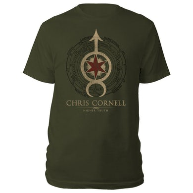 Chris Cornell Star Arrow Higher Truth T-shirt