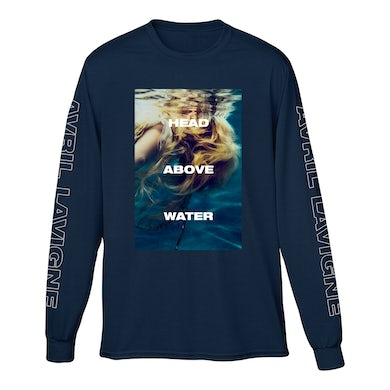 Avril Lavigne Head Above Water Long Sleeve T-Shirt