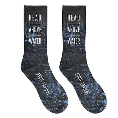 Avril Lavigne Head Above Water Socks