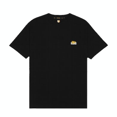 88rising EMBROIDERED LOGO BLACK CREWNECK TEE