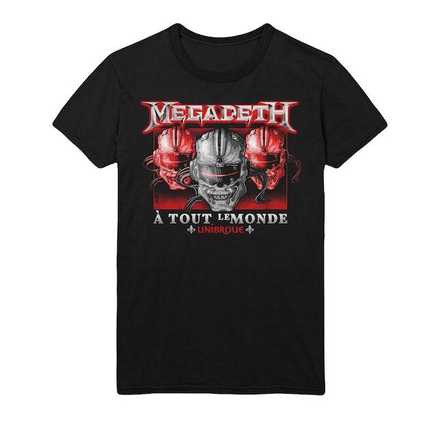 Megadeth A Tout Le Monde 3 Vic Tee