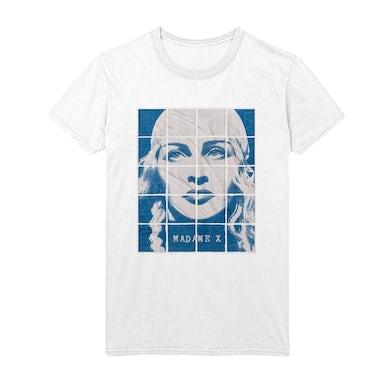Madonna Madame X  Deluxe Album Tee - White