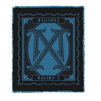 Madonna Madame X Logo Blanket