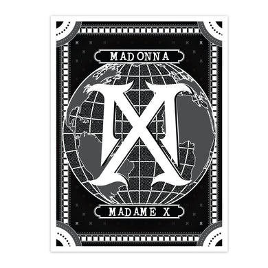 Madonna Madame X Logo Litho