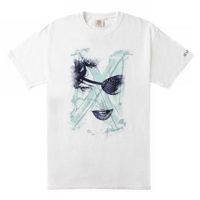 "Madonna MX ""Painted"" Eyepatch Tee"