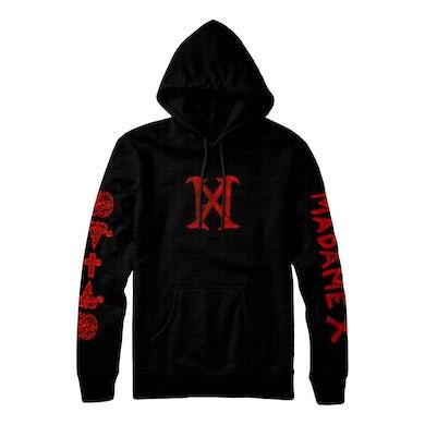 Madonna MX Logo Pullover Sweatshirt - Black