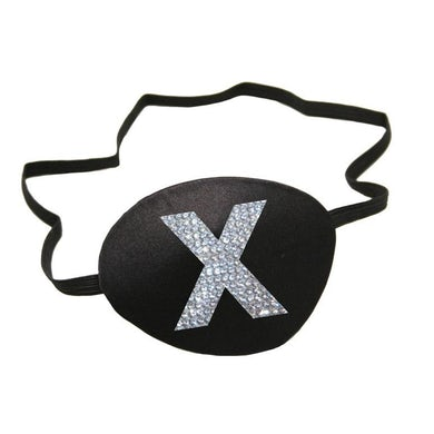 Madonna X Rhinestone eyepatch