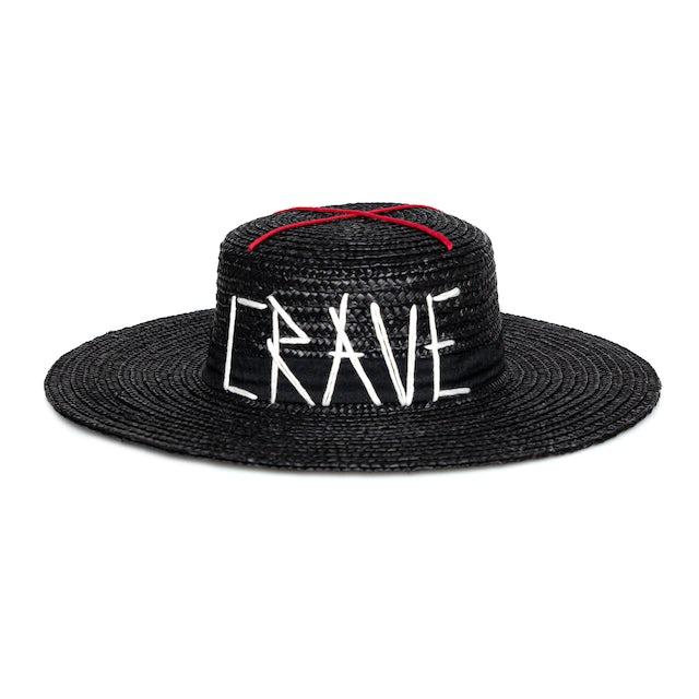 Madonna CRAVE straw Hat